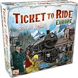 Ticket to Ride Europe: 2-5 Player Board Game
