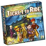 Ticket to Ride First Journey: 2-4 Player Board Game