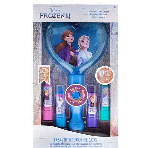 Disney S Frozen 2 Girls 4 Pk Lip Balm Amp Light Up Mirror Set