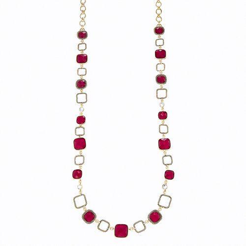 Dana Buchman Gold Tone Strand Necklace