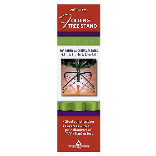 National Tree Company 24in. Folding Tree Stand