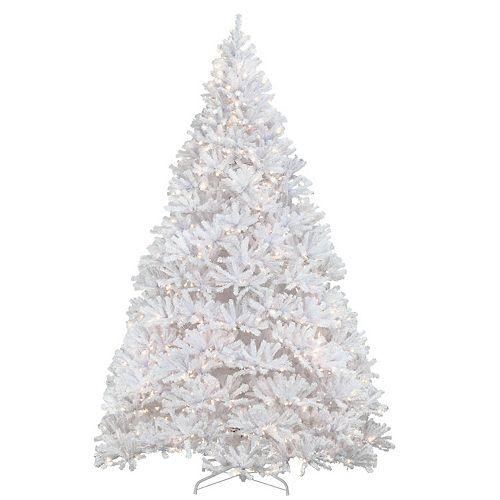National Tree Company 12-ft. Pre-Lit Kingswood White Fir Christmas Tree