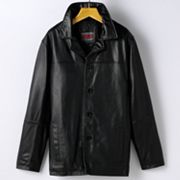Big & Tall Excelled Leather Car Coat