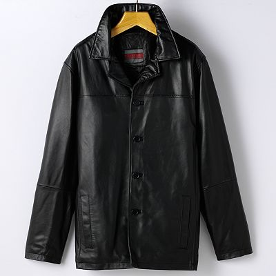 Excelled Leather Car Coat - Big and Tall