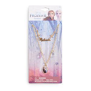 Disney's Frozen 2 Believe Necklaces