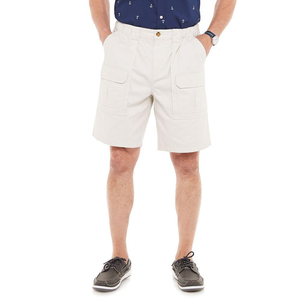 Men's Croft & Barrow® Side-Elastic Cargo Shorts