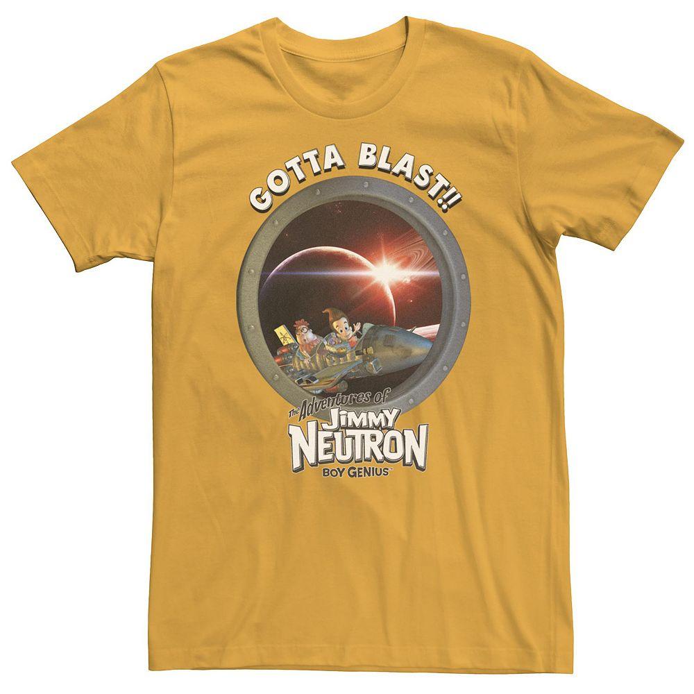 Men's Jimmy Neutron Gotta Blast Rocket Tee