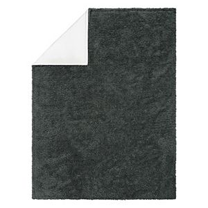 Trend Lab Gray Plush Baby Blanket