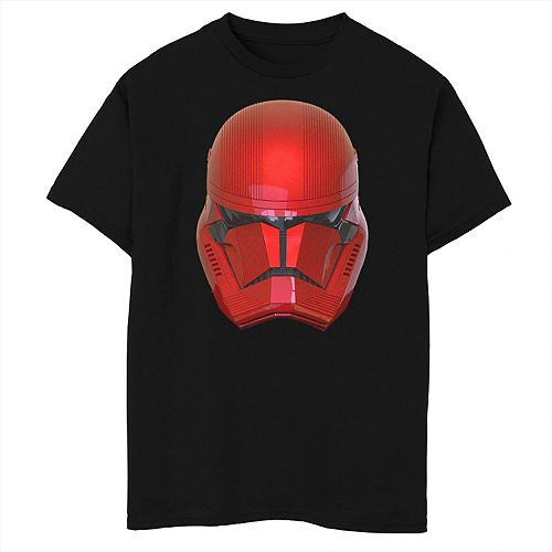 Boys 8-20 Star Wars Red Trooper Helmet Tee