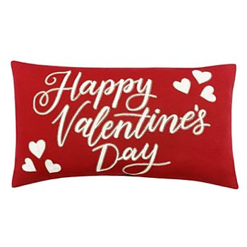 Celebrate Valentine's Day Together Happy Valentine's Day Throw Pillow
