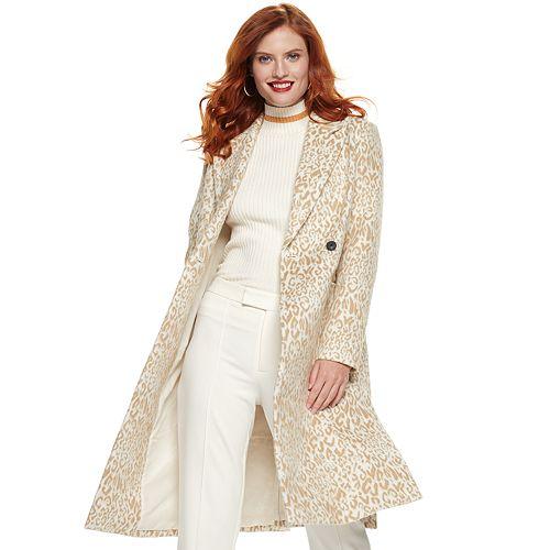 Women's Nine West Side Vent Coat