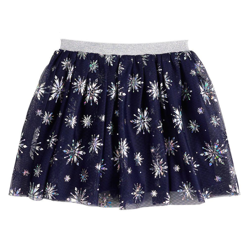 Disney's Frozen 2 Toddler Girl Snowflake Tulle Skirt by Jumping Beans®