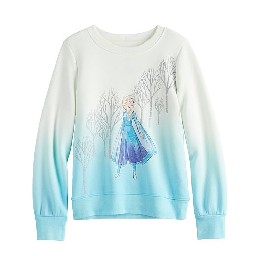 Disney's Frozen 2 Elsa Girls 4-12 Fleece Sweatshirt by Jumping Beans®