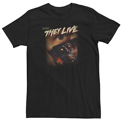 Men's They Live Skeleton Reflection Sunglasses Tee