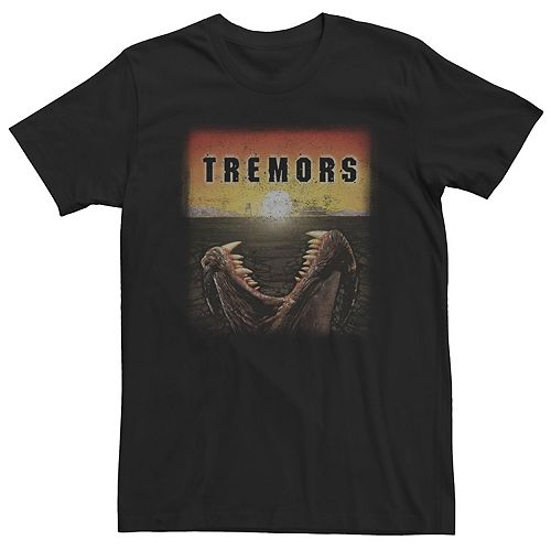 Men's Tremors Distressed From Below Poster Tee
