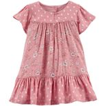 Baby Girl OshKosh B'gosh® Floral Peasant Dress