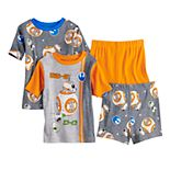 Disney?s Star Wars Boys 6-12 4-Piece Episode 9 Pajama Set
