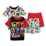 Boys 4-10 Marvel's Avengers Avenging 4-Piece Pajama Set