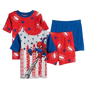 Boys 4-10 Spider-Man Brave Spider 4-pc. Pajama Set