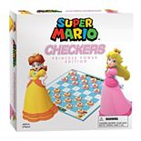 Super Mario Checkers: Princess Power Edition Board Game