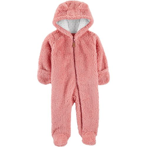 OshKosh BGosh Baby Girls Hooded Peplum Jacket Coat