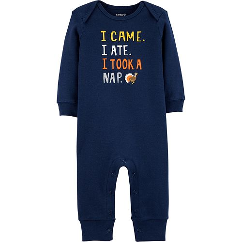 Baby Boys Carter's Thanksgiving Jumpsuit