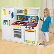 KidKraft Deluxe Let's Cook Kitchen Play Set