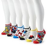 Disney's Mickey & Minnie Women's 6-Pack No-Show Socks