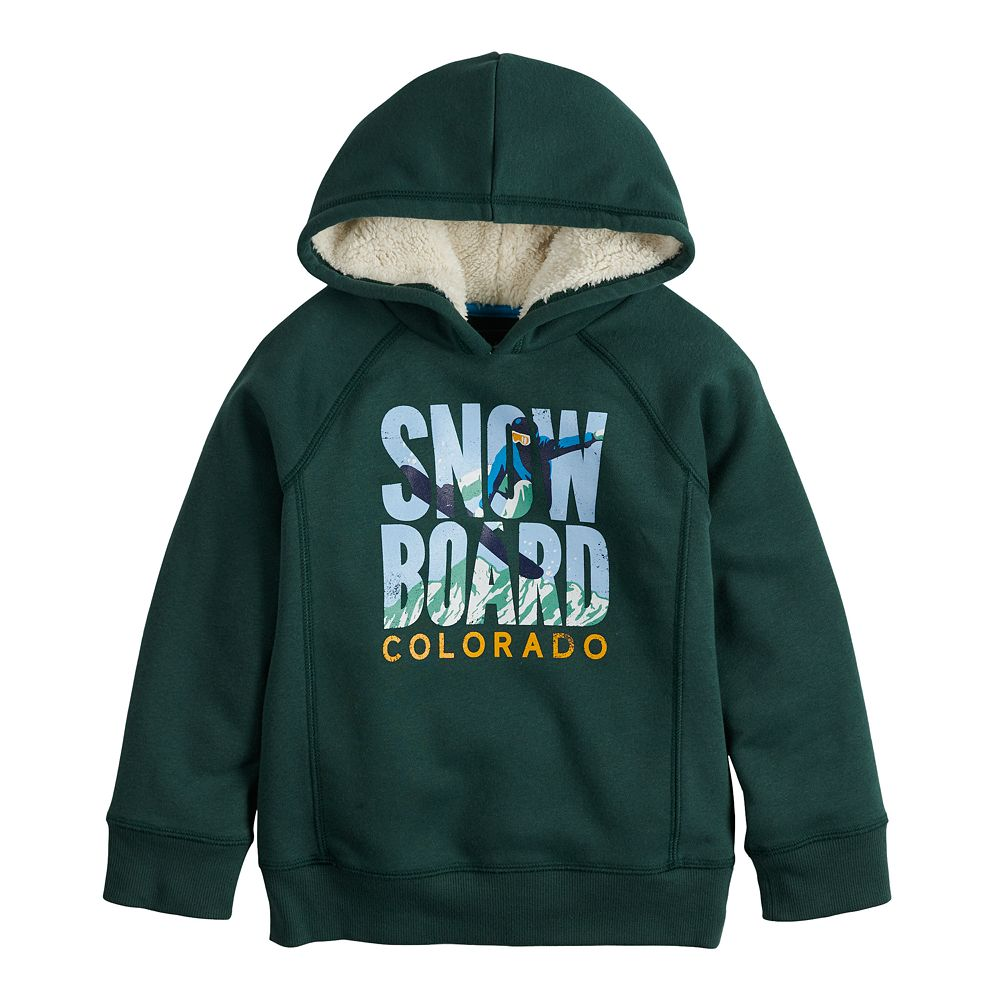 Boys 4-12 SONOMA Goods for Life® Color Block Graphic Hoodie