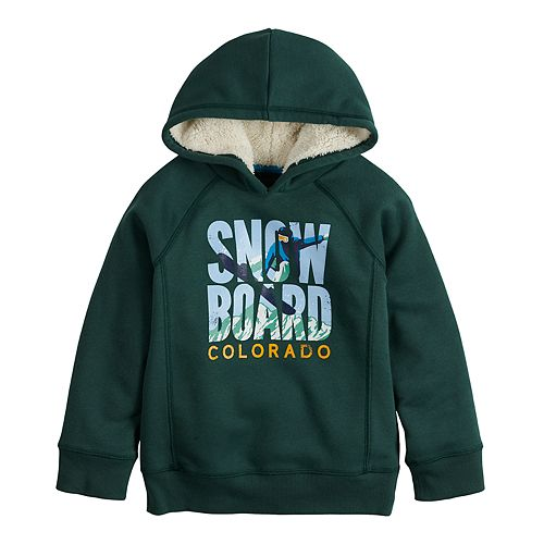 Boys 4-12 SONOMA Goods for Life™ Color Block Graphic Hoodie