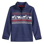 Boys 4-12 SONOMA Goods for Life? 1/4-Zip Fleece Sweater