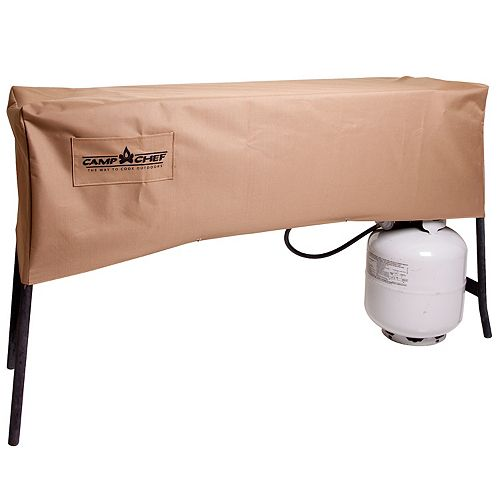 Camp Chef 3-Burner Stove Cover with Folding Legs