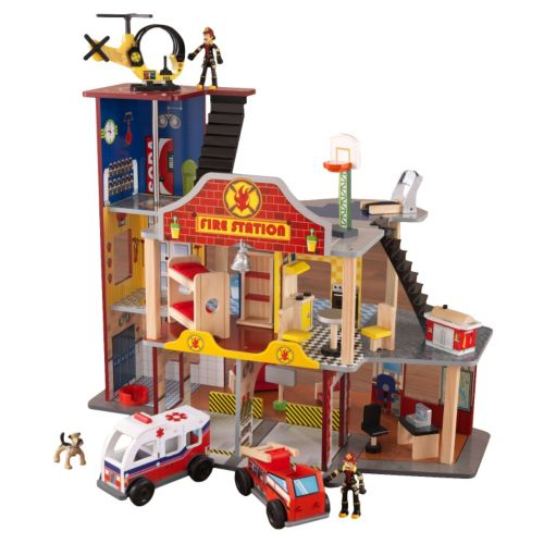 KidKraft Deluxe Fire Rescue Play Set