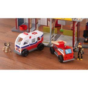 KidKraft Deluxe Fire Rescue Play Set