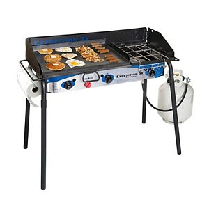 Expedition 3X Triple Burner Stove with Griddle