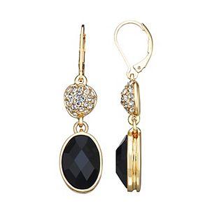 Dana Buchman Double Drop Earrings