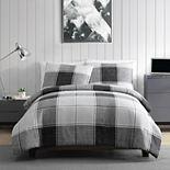 VCNY Home Brent Plaid Comforter Set