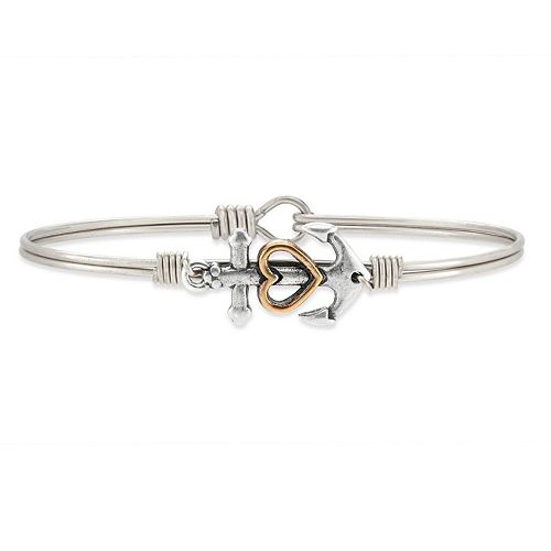 Luca + Danni Anchor Bangle Bracelet