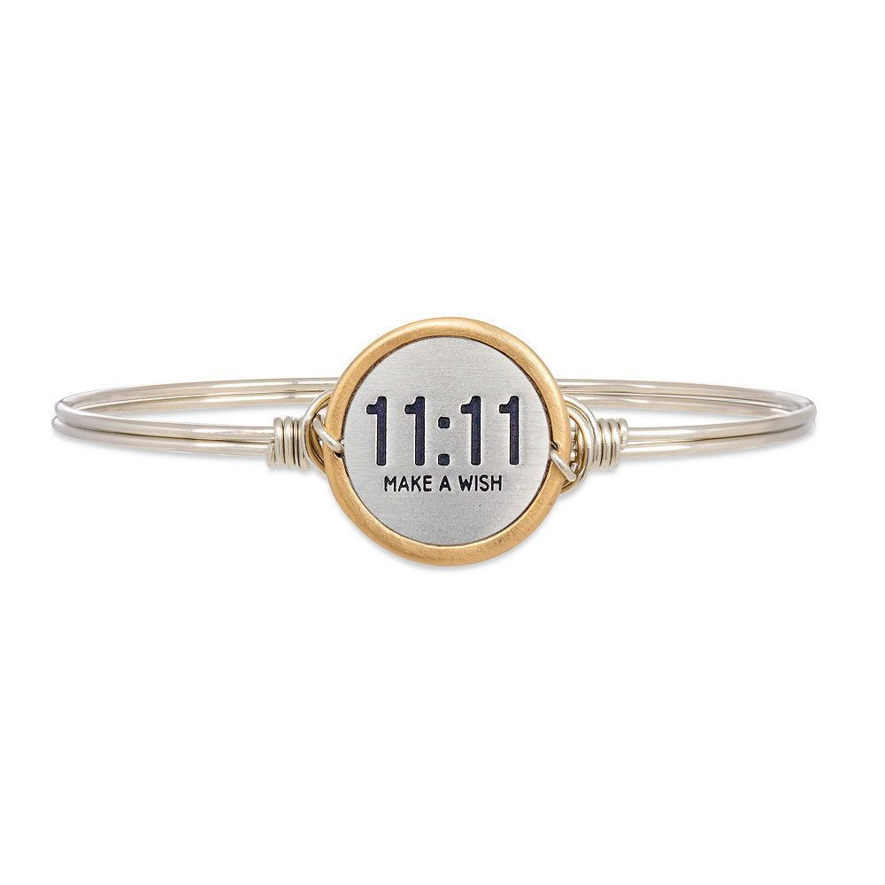 "Luca + Danni ""11:11 Make a Wish"" Bangle Bracelet"