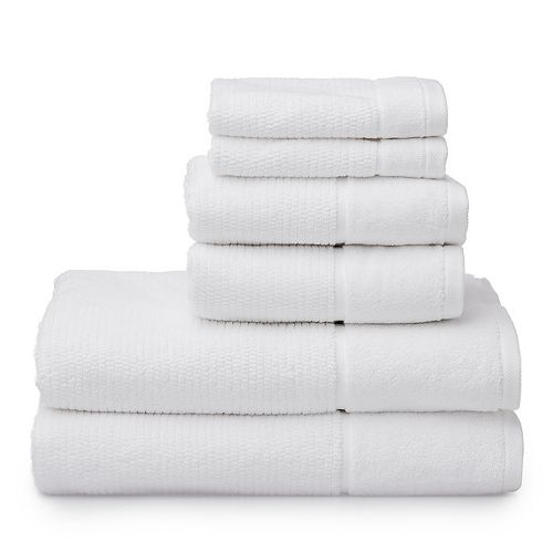 Welhome Anderson 6-piece Bath Towel Set