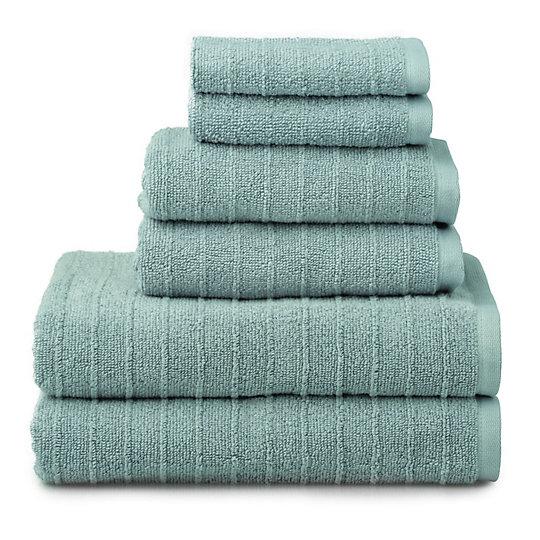 Welhome James 6 Piece Bath Towel Set