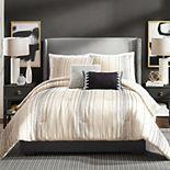 Ayesha Curry Slate Stripe 3-Piece Comforter Set