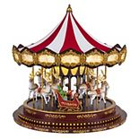 Mr Christmas Deluxe Christmas Carousel Table Decor