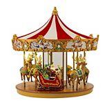 Mr Christmas Very Merry Carousel Table Decor