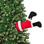 Mr Christmas Animated Kickers Santa Christmas Tree Decor