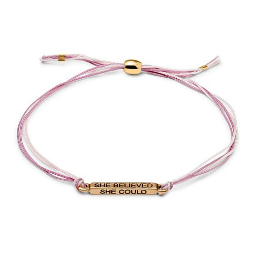 Luca + Danni She Believed Cord Bracelet