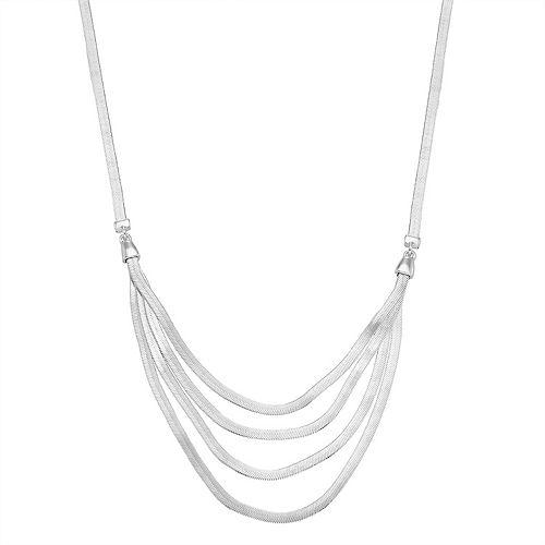 Dana Buchman Multi Row Chain Necklace