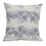 Stratton Home Decor Tropical Palm Pillow