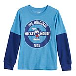 Boys 4-12 Disney's Mickey Mouse Graphic Long Sleeve Tee by Jumping Beans®