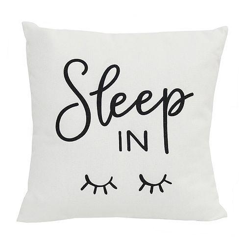 Stratton Home Decor Sleep In Pillow
